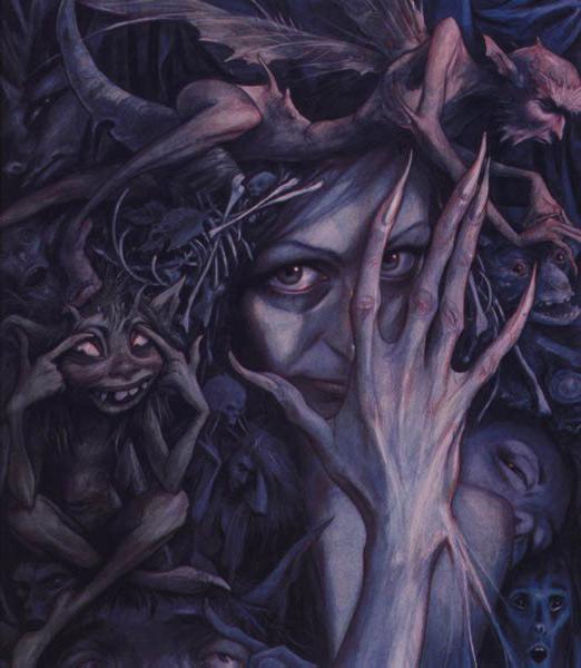 Te Queen of the Bad Faeries, de Brian Froud.